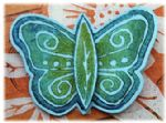 PaperArtsy Die - Eclectica Butterfly